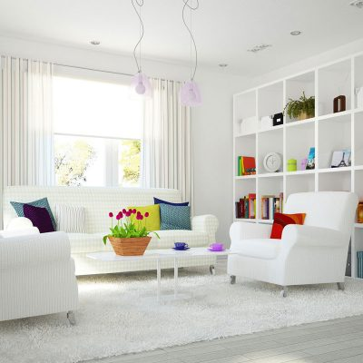Tips Interior Warna Putih